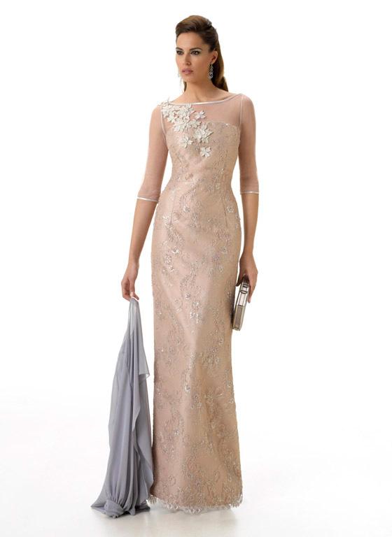 Modelos de vestidos largos rectos