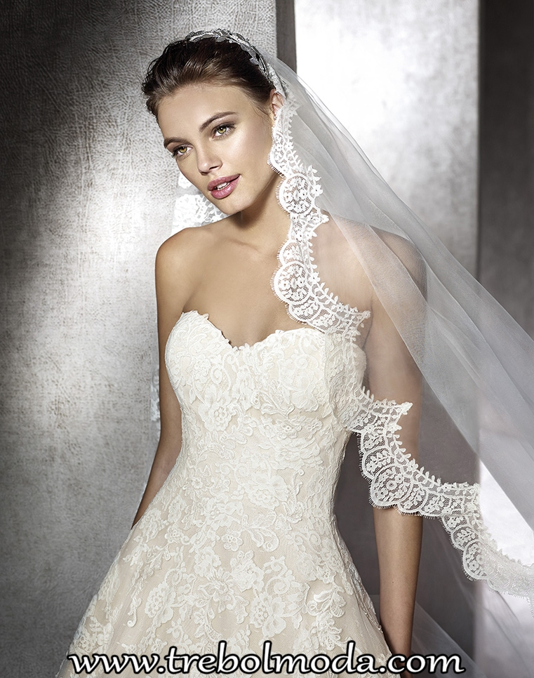 vestidos novia st. patrick - trebol moda