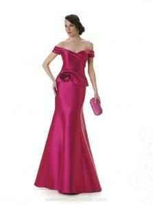 Modelos de vestidos largos con escote