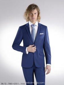 aa8eef01d776a Traje hombre azul. Mod. 7514