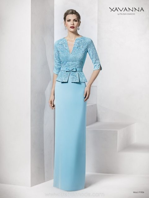 Vestidos Madrina Largos Trebol Moda