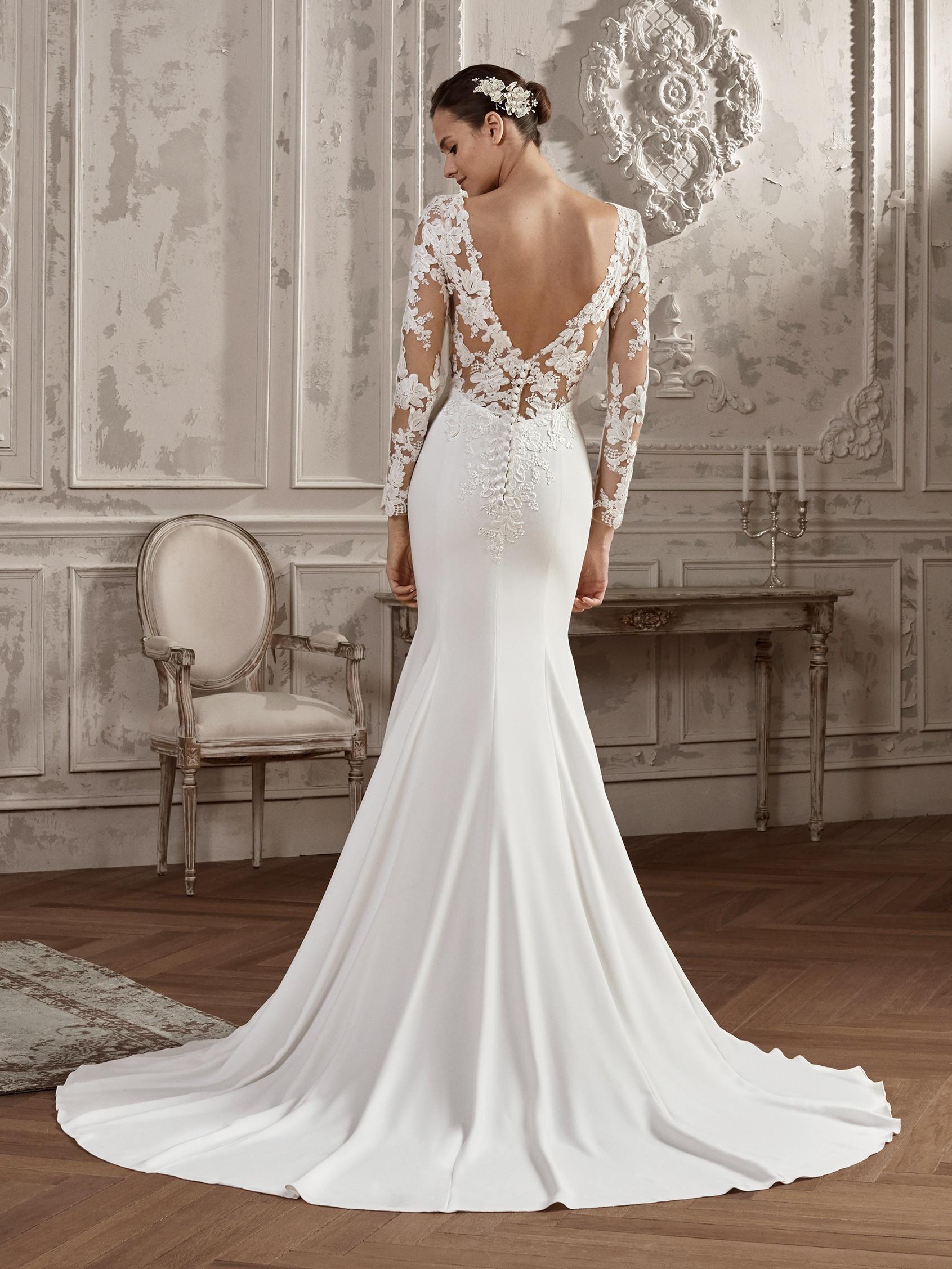 868d14384 Vestido de novia St. Patrick. Mod. Albatros. Talla 44