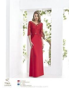 Vestidos de madrinas rojos