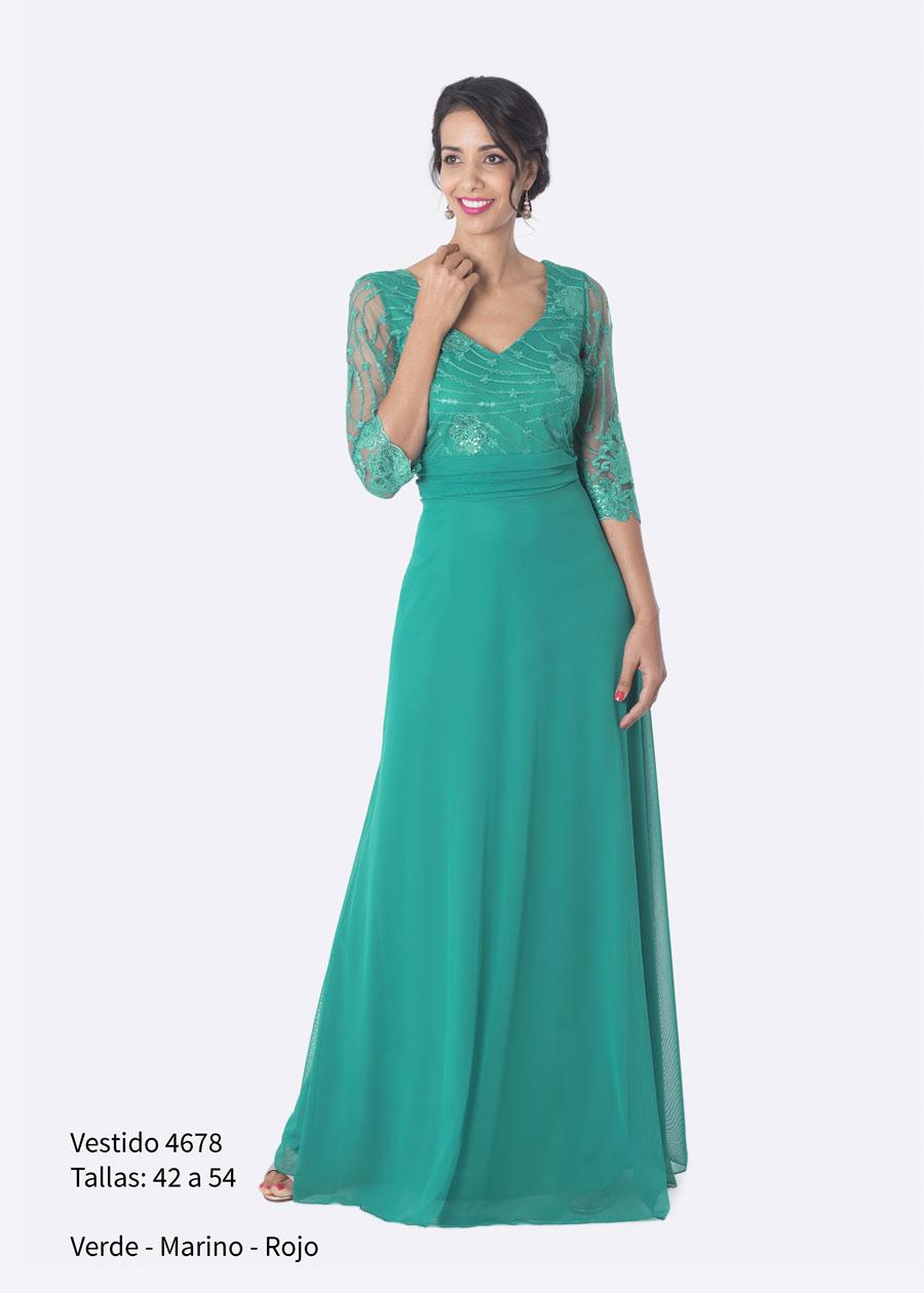 fce99571c6 Vestido largo color cardenal. Talla 48. Mod. VL4941. Ver precio. Vestido  largo fiesta.