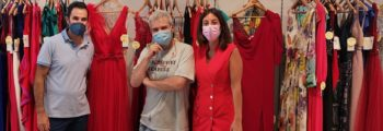 Lorenzo Caprille visita Trebol Moda. El gran maestro de la costura nos sorprende gratamente